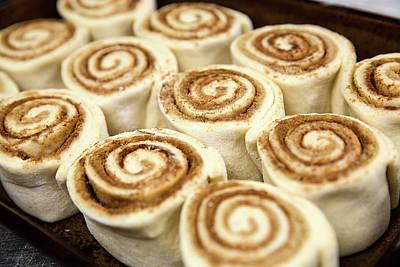 Photograph - Cinnamon Rolls by Todd Klassy