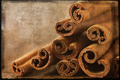 Photograph - Cinnamon Sticks by Cindi Ressler