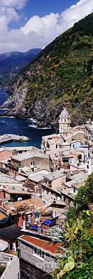 Cinque Terra Town Of Vernazza Art Print