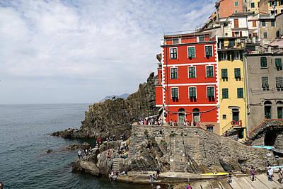 Photograph - Cinque Terre 1 by Andrew Fare