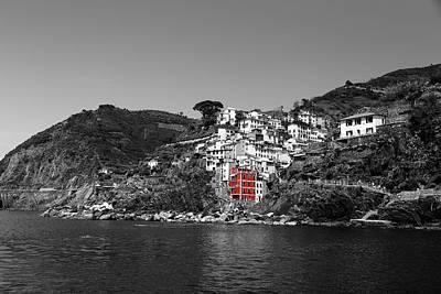 Photograph - Cinque Terre 3b by Andrew Fare