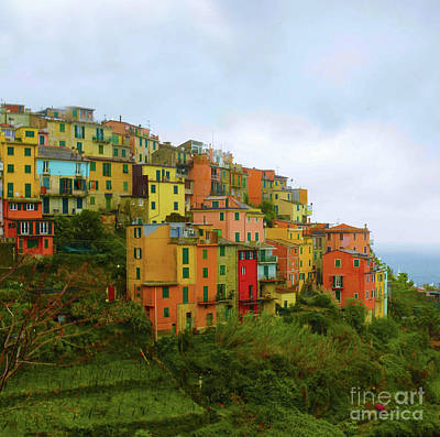 Photograph - Cinque Terre by Bob Senesac