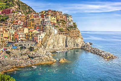 Photograph - Cinque Terre by Brent Durken