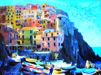 Painting - Cinque Terre by Chris Armytage