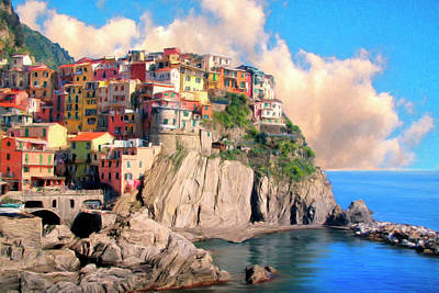Cinque Terre Art Print by Dominic Piperata