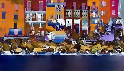 Cinque Terre  I Art Print by Gareth Davies