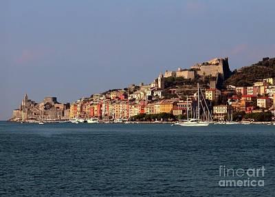 Photograph - Cinque Terre Italian Coast by Barbie Corbett-Newmin