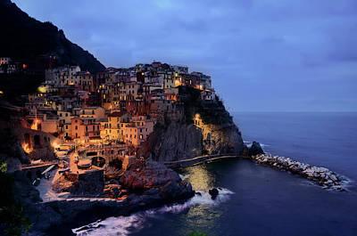 Photograph - Cinque Terre - Italy by Daniel Hagerman