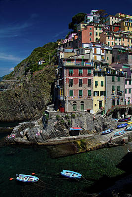 Photograph - Cinque Terre Northern Italy by Roger Mullenhour