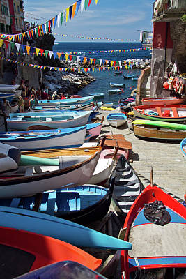 Photograph - Cinque Terre Skiffs by Roger Mullenhour