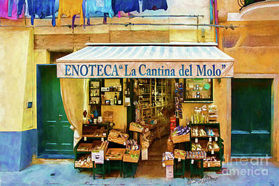 Photograph - Cinque Terre Store by Stuart Row