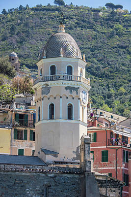 Photograph - Cinque Terre Tower  by John McGraw