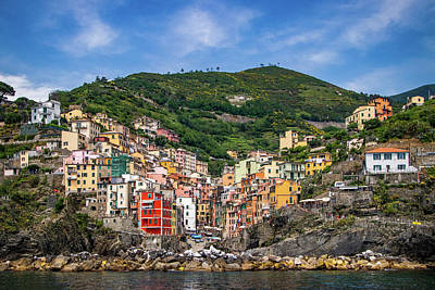 Photograph - Cinque Terre Village Of Riomaggiore by Carolyn Derstine