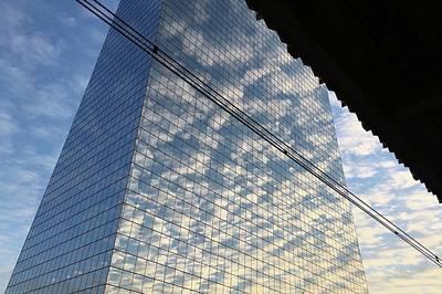 Cira Centre Photograph - Cira Clouds by Richard Carlton London