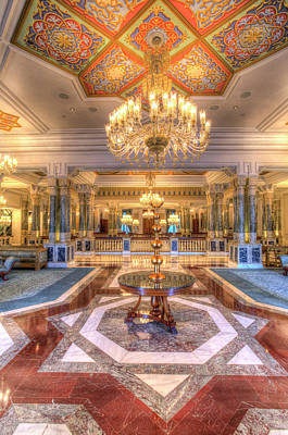 Photograph - Ciragan Palace Istanbul by David Pyatt
