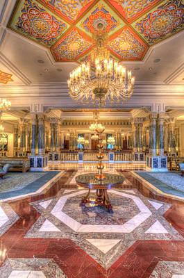 Photograph - Ciragan Palace Istanbul by David Pyatt