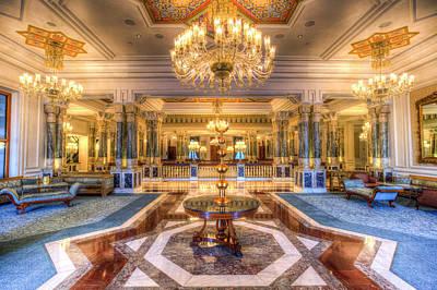 Photograph - Ciragan Palace Istanbul Turkey by David Pyatt