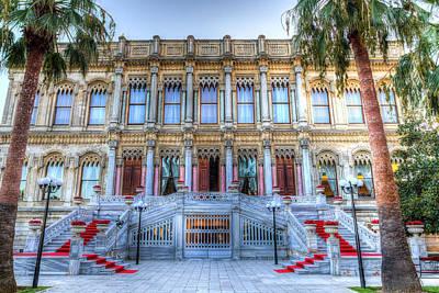Photograph - Ciragan Palace Istanbul Turkey by David Pyattiragan Palace Istanbul