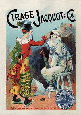 Mixed Media - Cirage Jacquot And Cie - Vintage French Advertising Poster by Studio Grafiikka