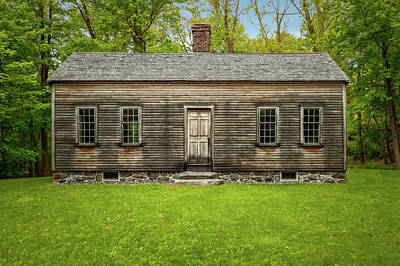 Photograph - Circa 1830 Home Of Slavery Survivor Caesar Robbins  -  1823robbinshouselab184760 by Frank J Benz