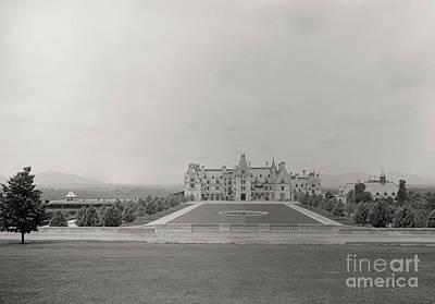 Photograph - Circa 1895 Biltmore Estate by Dale Powell