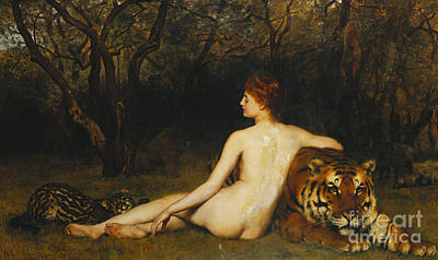 Collier Painting - Circe by John Collier