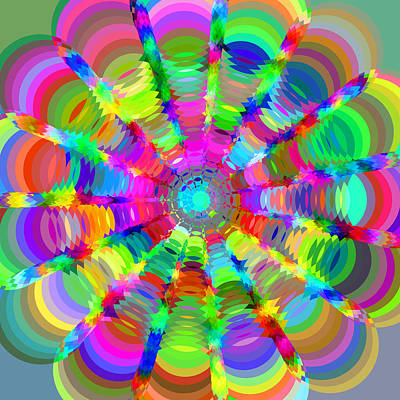 Royalty-Free and Rights-Managed Images - Circle Art 2 by Chris Butler