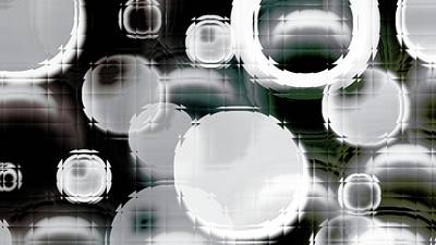 Circle Blocks Art Print by Carol Crisafi