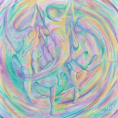 Painting - Circle Dance by Jaswant Khalsa