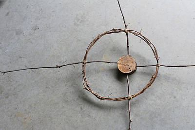Eco-art Photograph - Circle Form #4 Expanded by Natalie Schorr