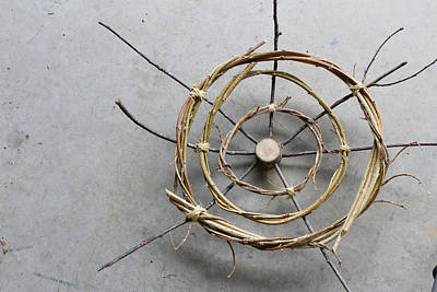 Eco-art Photograph - Circle Form #5 Right by Natalie Schorr