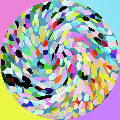 Circle II Art Print by Roger Smith