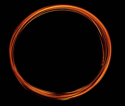 Photograph - Circle Of Fire  by Martina Fagan