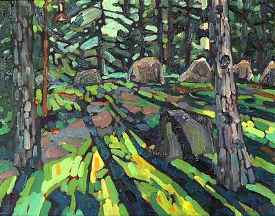 Arthur Lismer Painting - Circle Of Friends by Phil Chadwick