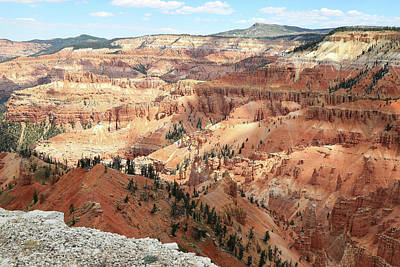 Photograph - Circle Of Painted Cliffs by Donna Kennedy