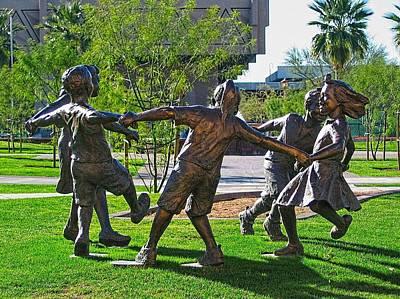 Digital Art - Circle Of Peace --  Phoenix Gary Lee Price by Doug Morgan