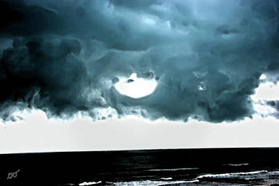 Photograph - Circle Of Storm Clouds by Gina O'Brien