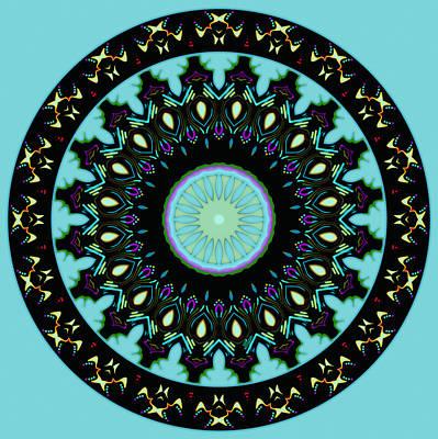 Native American Thunderbird Art  - Circle Of Thunderbirds by Joy McKenzie