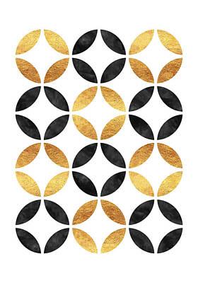 Circle Pattern Print by Raluca Mateescu