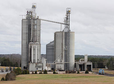Photograph - Circle S Feed Mill 1 by Joseph C Hinson Photography