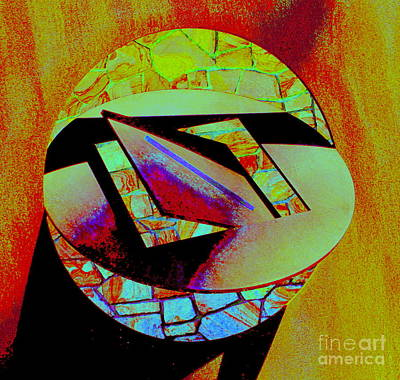 Photograph - Circle Sculpture 3 by Randall Weidner