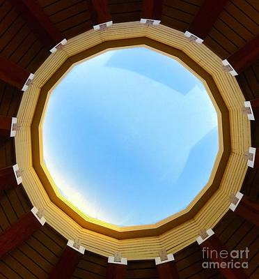 Photograph - Circle Skylight by Suzanne Lorenz