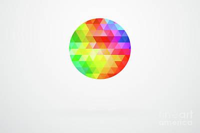 Designers Choice Digital Art - Circle Spectrum by Radu Bercan