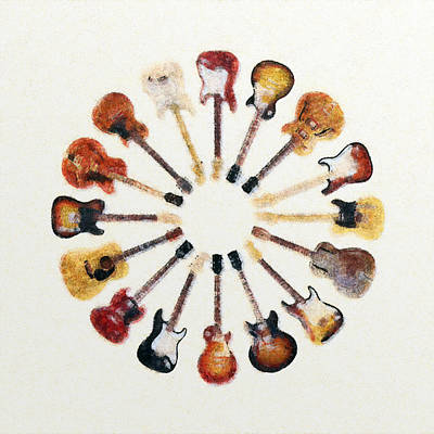 Mixed Media - Circle Strings by Anton Kalinichev