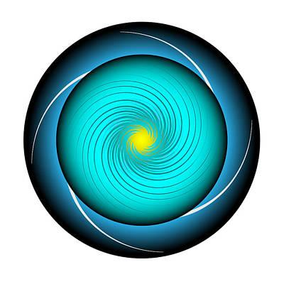 Digital Art - Circle Study No. 339 by Alan Bennington