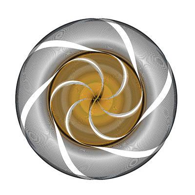 Digital Art - Circle Study No. 364 by Alan Bennington