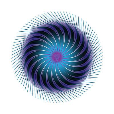 Digital Art - Circle Study No. 388 by Alan Bennington