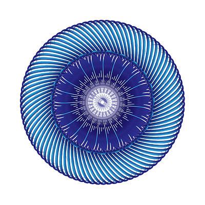 Digital Art - Circle Study No. 413 by Alan Bennington