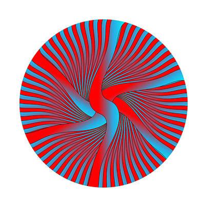 Digital Art - Circle Study No. 430 by Alan Bennington