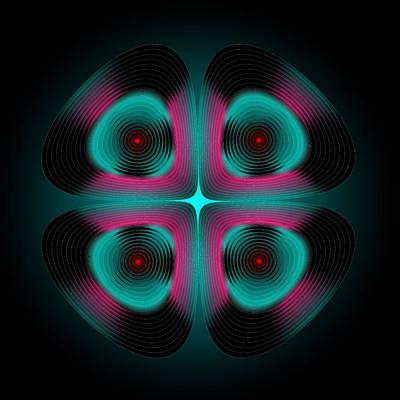 Digital Art - Circle Study No. 456 by Alan Bennington